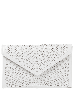 Oum 20 Small leather clutch