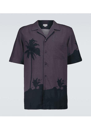 Short-sleeved bowling shirt