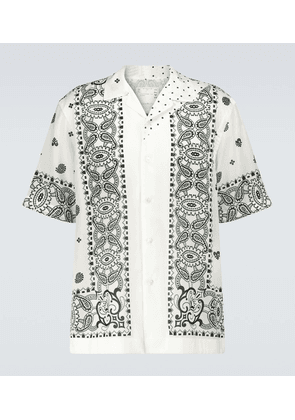 Archive printed Mix short-sleeved shirt