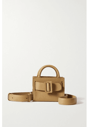 BOYY - Bobby Surreal Mini Buckled Textured-leather Tote - Mustard