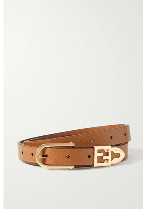 Fendi - Leather Belt - Brown