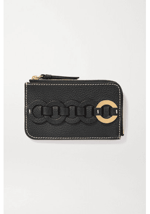 Chloé - Darryl Textured-leather Cardholder - Black