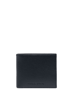 Emporio Armani billfold leather wallet - Blue