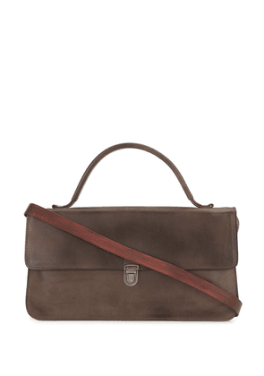 Cherevichkiotvichki calf leather shoulder bag - Brown