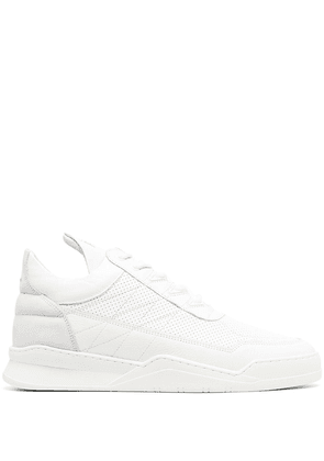 Filling Pieces high-top lace-up trainers - White