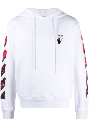 Off-White Marker Arrows cotton hoodie