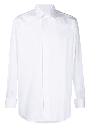 Brioni classic buttoned-up shirt - White