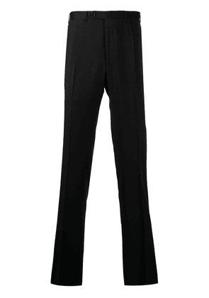 Canali tailored cut wool trousers - Black