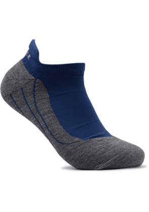 FALKE Ergonomic Sport System - RU4 Invisible Stretch-Knit Socks - Men - Blue
