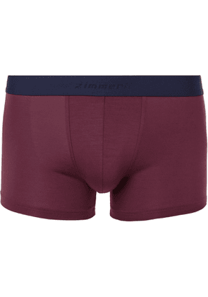 ZIMMERLI - Pureness Stretch Micro Modal Boxer Briefs - Men - Red