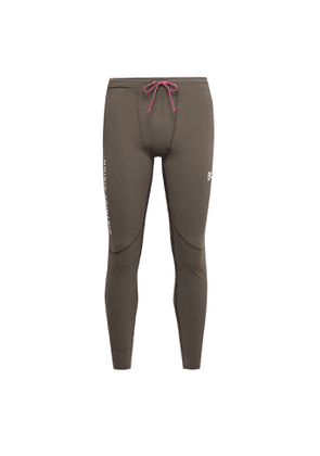 DISTRICT VISION - Lono Stretch-Jersey Tights - Men - Brown - L