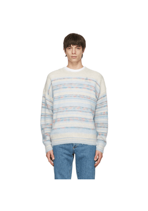Isabel Marant Off-White Striped Drussellh Sweater
