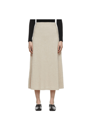 Blossom Beige Via Mid-Length Skirt