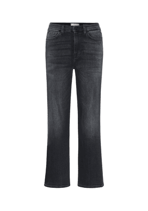Alexa cropped high-rise jeans