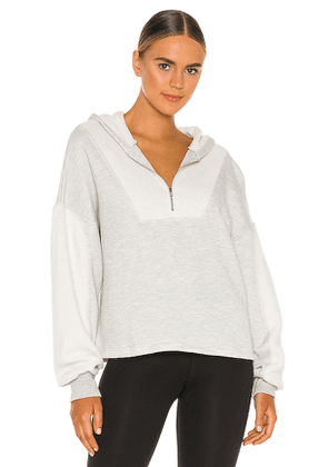 YEAR OF OURS Mountain Pullover in Grey. Size XS.