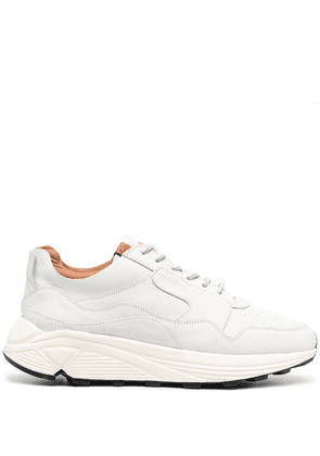 Buttero chunky-soled panelled tonal trainers - White