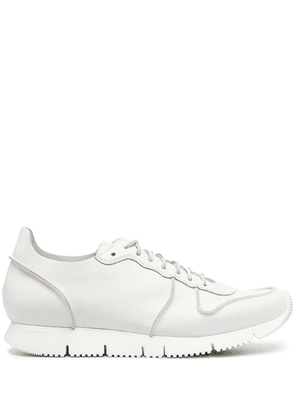 Buttero panelled tonal trainers - White