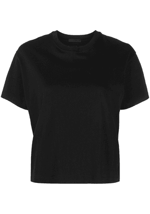 Atm Anthony Thomas Melillo cropped cotton T-shirt - Black
