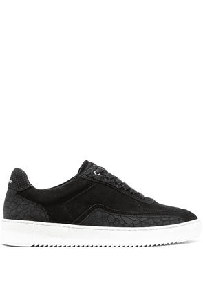 Filling Pieces Ripple low-top sneakers - Black