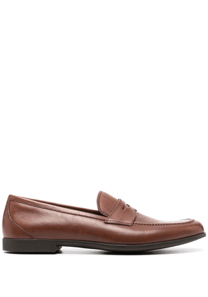 Fratelli Rossetti classic penny loafers - Brown