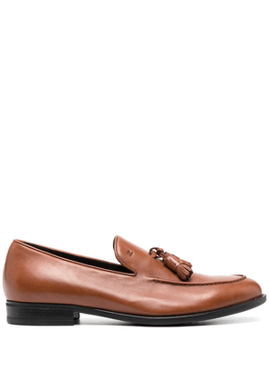 Fratelli Rossetti front tassel loafers - Brown