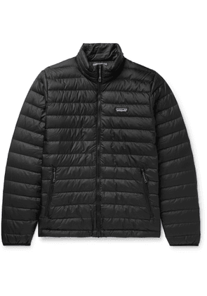 PATAGONIA - Quilted DWR-Coated Ripstop Shell Down Jacket - Men - Black