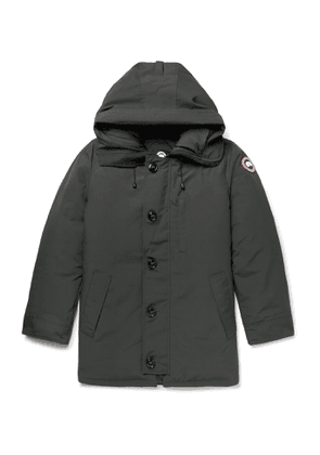 CANADA GOOSE - Chateau Shell Hooded Down Parka - Men - Green