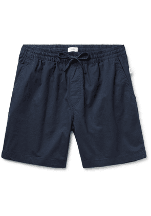 ONIA - Aiden Slim-Fit Cotton-Twill Drawstring Shorts - Men - Blue