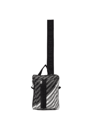 Givenchy Black and White Light 3-Sling Backpack