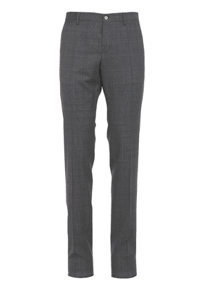 Prince Of Wales Wool Pants