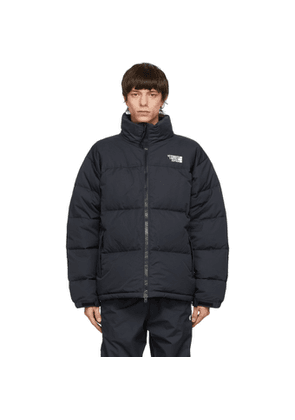 VETEMENTS Black Limited Edition Puffer Jacket