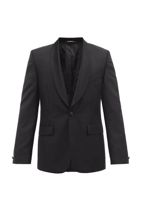 Givenchy - Single-breasted Shawl-lapel Wool-blend Blazer - Mens - Black