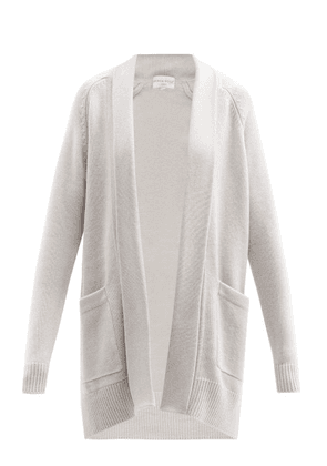 Derek Rose - Nina Cashmere Cardigan - Womens - Light Grey