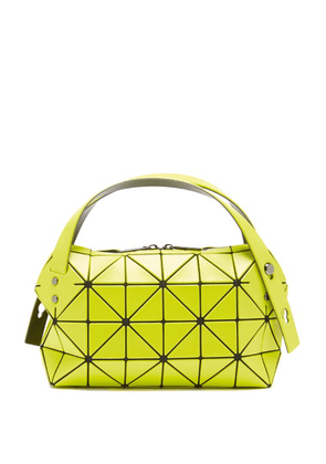 Bao Bao Issey Miyake - Boston Pvc Shoulder Bag - Womens - Yellow
