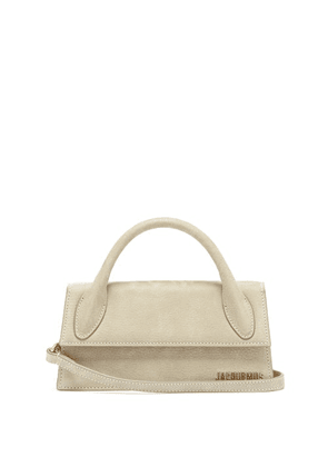 Jacquemus - Chiquito Long Leather Cross-body Bag - Womens - Beige