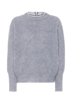 Alpaca and mohair-blend sweater