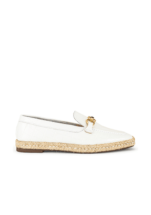 Schutz Patty Loafer in White. Size 6, 6.5, 7, 7.5, 8, 8.5, 9, 9.5.