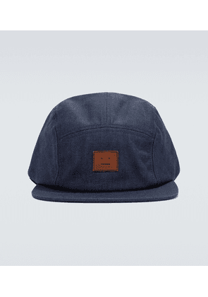 Crunn Face denim baseball cap