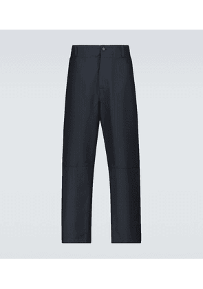 Valentino straight-fit pinstriped pants
