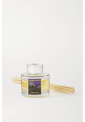 La Montaña - Reed Diffuser - Three Kings, 120ml - Colorless