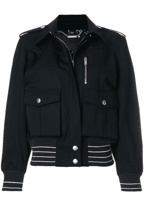 Givenchy zipped fitted jacket - Blue