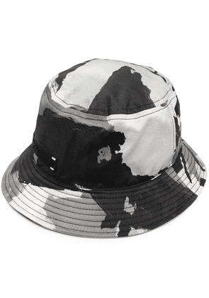 Dolce & Gabbana abstract-print bucket hat - Grey