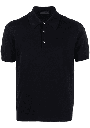 Prada cotton polo shirt - Blue