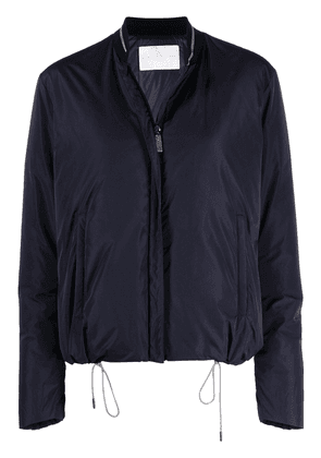 Fabiana Filippi stand-up collar jacket - Blue