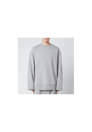 Y-3 Men's Classic Chest Logo Crew Sweatshirt - Grey - XL