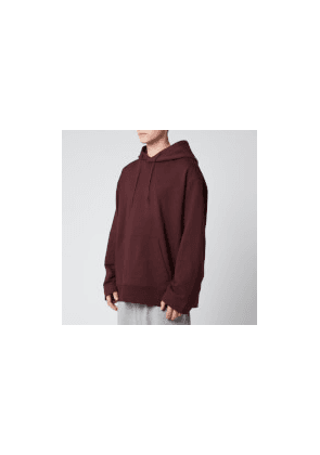 Y-3 Men's Classic Chest Logo Hoodie - Red - XL