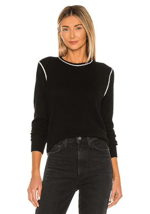 Theory Crew Neck Sweater in Black. Size XS.
