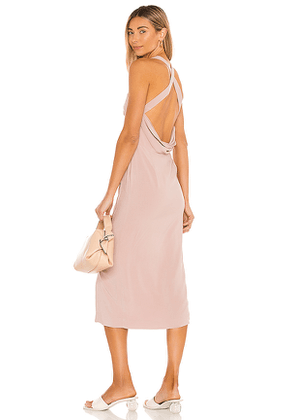 Tularosa Ashley Dress in Mauve. Size XXS, XS, S, M, XL.