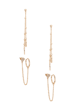 8 Other Reasons 120 Earring Pack in Metallic Gold.