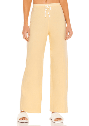 Skin Guinevere Pant in Lemon. Size XS, S, M.